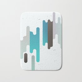 Abstract Texure Bath Mat