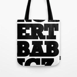 Robert Babicz logo Tote Bag