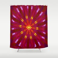 shining Shower Curtains featuring Shining Bright by lillianhibiscus