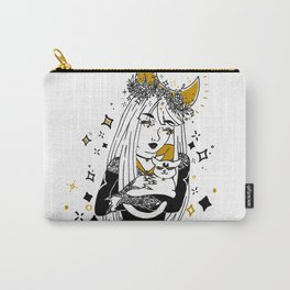 Moon Witch - Gold phase Carry-All Pouch