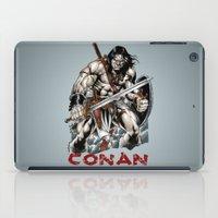 conan iPad Cases featuring Conan by CromMorc