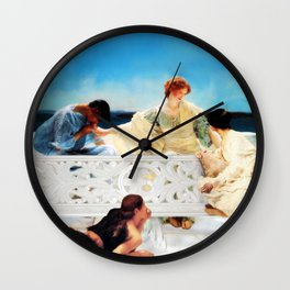 Lack of Privacy Wall Clock