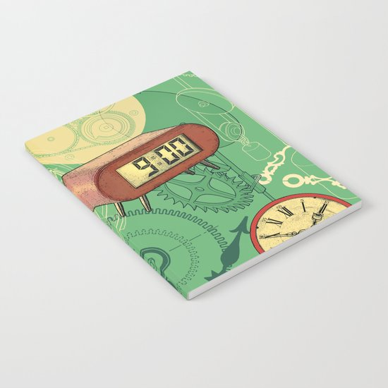 TIC TAC TIME Notebook