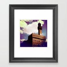 palazzio vecchio Framed Art Print