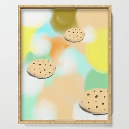 Cookie Space Serving Tray