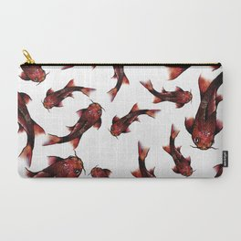 Koi fish print Carry-All Pouch
