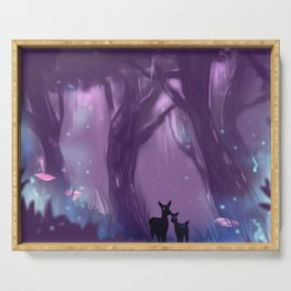 Fantasy Forest Serving Tray