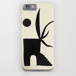 Wild Boot House iPhone Case