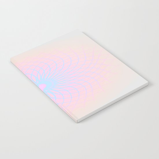 Pink Honeycomb Notebook