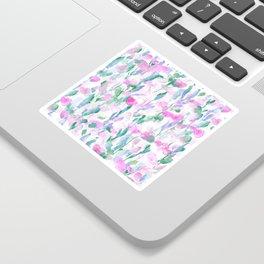 Resolve Pink Blue Sticker