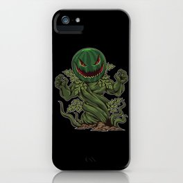 Halloween Watermelon comes from the ground iPhone Case