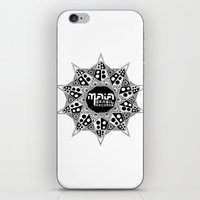 brasil iPhone & iPod Skins featuring Maia Brasil by Splund