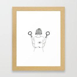 My trueself Framed Art Print