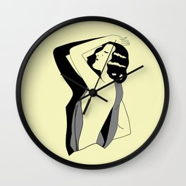 Vanity, a 1920s Hollywood style Wall Clock
