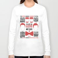 kurt rahn Long Sleeve T-shirts featuring Kurt & Blaine  by Zara Yow