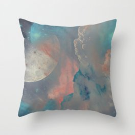 Gashes in the sky Throw Pillow