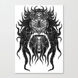 Tentacle Terror Canvas Print