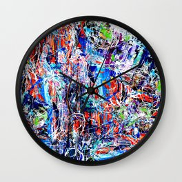 Accident Prone Wall Clock