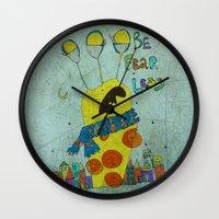 monster Wall Clocks featuring Monster by Catru