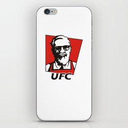 The Notorious Conor Mcgregor T-shirt Funny UFC KFC iPhone Skin