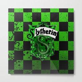 Slytherin Logo Metal Print
