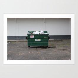 yung dumpster Art Print