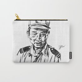 Vietnamese Security Guard in Uniform Carry-All Pouch