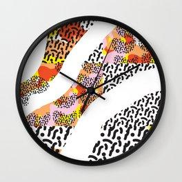 pattern play Wall Clock