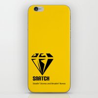 snatch iPhone & iPod Skins featuring Snatch by Arian Noveir