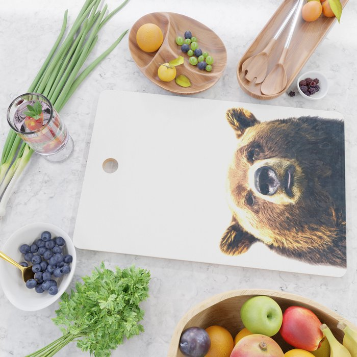 Bear portrait Cutting Board