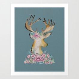 BuckyFloral  Art Print