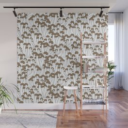 Beech Mushrooms Wall Mural