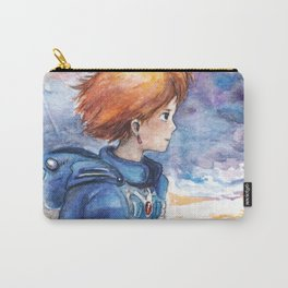 The cloudy Sky in the Valley Carry-All Pouch