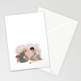 Achilles and Patroklos  Stationery Cards