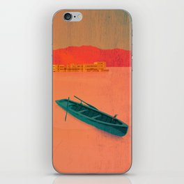 Udaipur, India - Classic Travel Poster iPhone Skin
