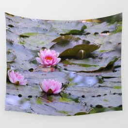 Water Lilies Wall Tapestry