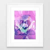 swag Framed Art Prints featuring Swag by Zilmari