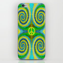 Peace Koru iPhone Skin