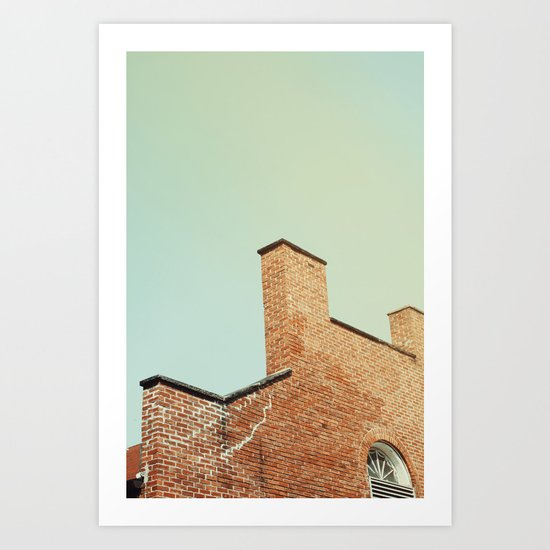 Power Station Art Print