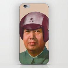 Helmet Mao iPhone & iPod Skin