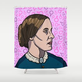 Susan B. Anthony Shower Curtain