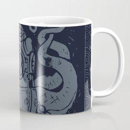 Mark V Octopus - navy Coffee Mug