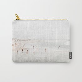 At the Beach (two) - minimal beach series by Ingrid Beddoes Carry-All Pouch
