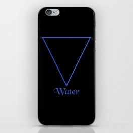 Water Element Symbol iPhone Skin