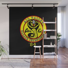 cobra kai karate clan Wall Mural