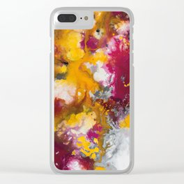 COLORFUL 123 Clear iPhone Case