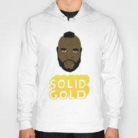 solid Hoodies featuring Solid Gold by Chase Kunz