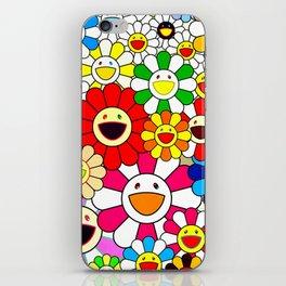 Takashi Murakami - Blooming Flowers iPhone Skin