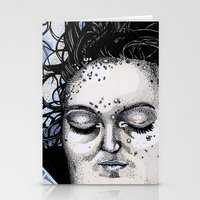 laura palmer Stationery Cards featuring Laura Palmer by Drawn by Nina