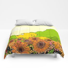 Ferald and Mizz Ladybug Comforters